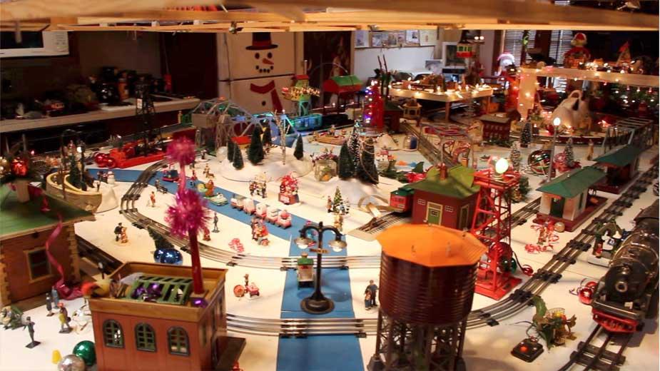 Burchfield Trees and Train Displays