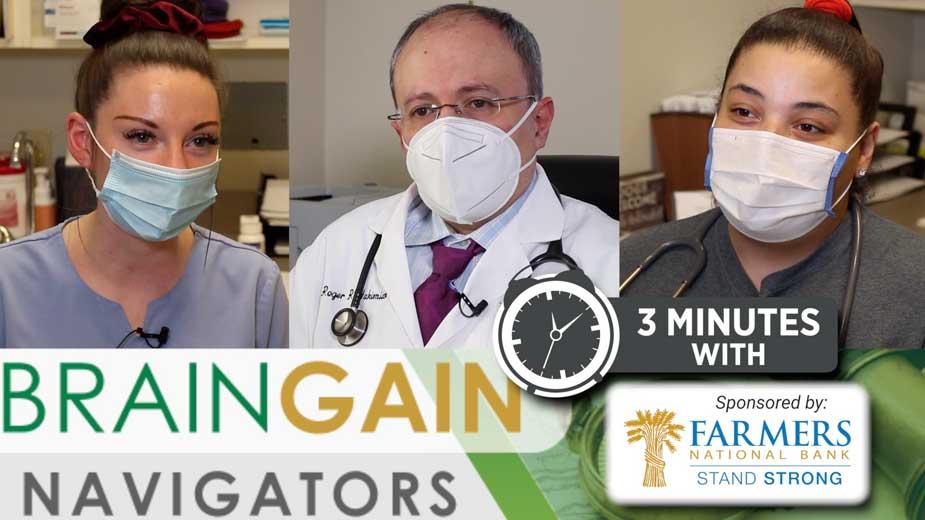 Brain Gain Navigators Excerpt: Talking Education with Medical Professionals