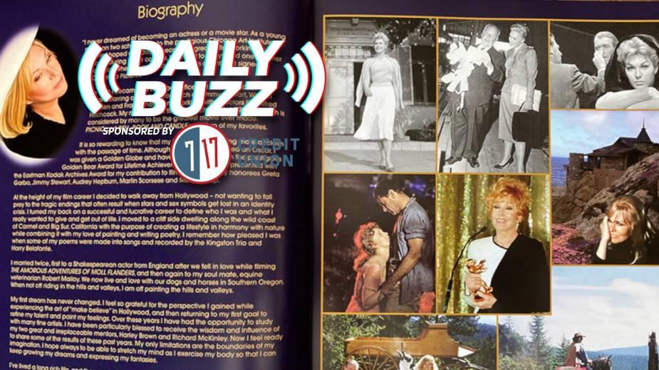 "Daily Buzz 4-14-21 | Kim Novak ""Scrapbook"" Helps Support The Butler Institute of American Art"